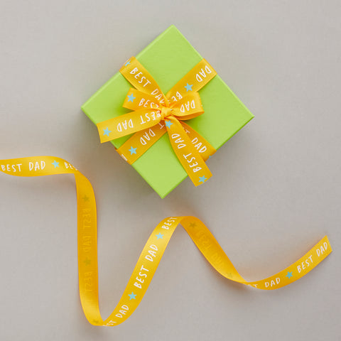 Father's Day Best Dad Ribbon