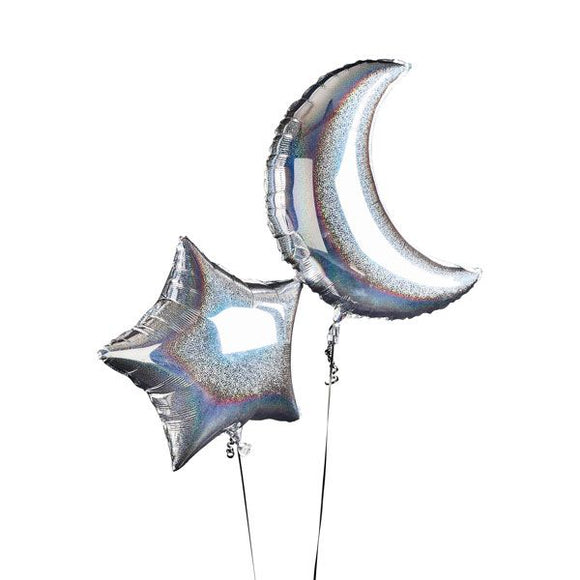 Moon & Star Balloons