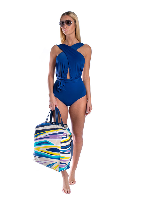 Royal Blue Chic One Piece