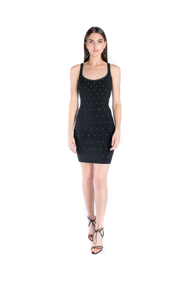 Mini Dress with Swarovski® Crystals