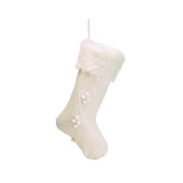 Fur Knit Stocking