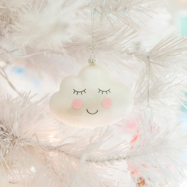 Sleepy Cloud Ornament