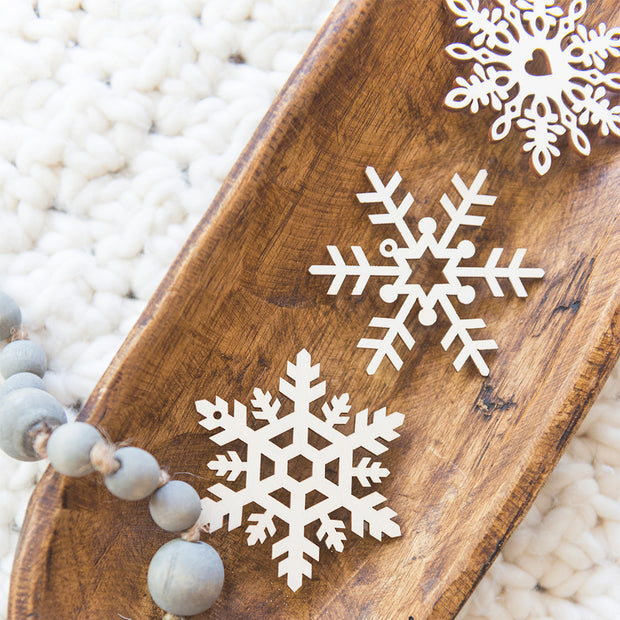 Shop Jovie Scandinavian Snowflake Ornaments