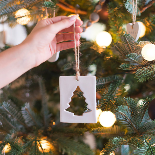 Cutout Tree Ornament