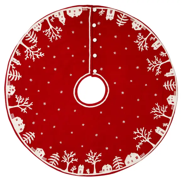 Winter Wonderland Felt Tree Skirt