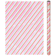 Iridescent Stripe Gift Wrap Roll