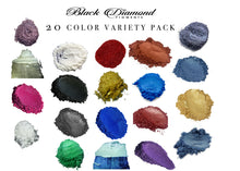Load image into Gallery viewer, 20 COLOR VARIETY PACK  (Epoxy,Paint,Color,Art) Black Diamond Pigments® - Black Diamond Pigments