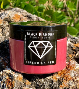 """FIREBRICK"" 42g/1.5oz - Black Diamond Pigments"
