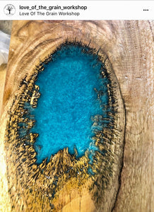 """BORA BORA BLUE"" 42g/1.5oz - Black Diamond Pigments"