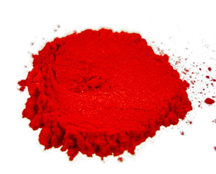 """IMPERIAL RED/PINK"" Mica Powder Pigment - Black Diamond Pigments® - Black Diamond Pigments"