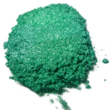 "Load image into Gallery viewer, ""IRIDESCENT GREEN"" 42g/1.5oz - Black Diamond Pigments"