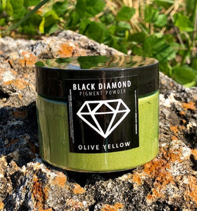 """OLIVE YELLOW"" 42g/1.5oz - Black Diamond Pigments"