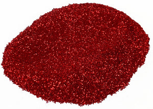 """RUBY RED GALAXY GLITTER"" 42g/1.5oz - Black Diamond Pigments"