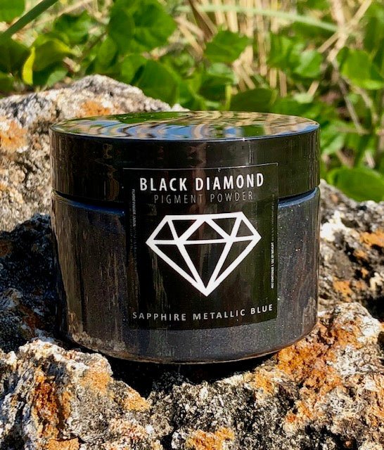 """SAPPHIRE METALLIC BLUE"" 42g/1.5oz - Black Diamond Pigments"
