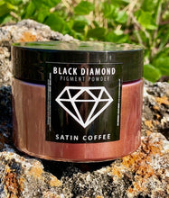 "Load image into Gallery viewer, ""SATIN COFFEE"" 42g/1.5oz - Black Diamond Pigments"