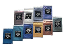 Load image into Gallery viewer, VARIETY PACK 10 (10 COLORS) mica powder pigment variety packs  Black Diamond Pigments® - Black Diamond Pigments