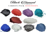 Load image into Gallery viewer, VARIETY PACK 17 (10 COLORS) mica powder pigment variety packs  Black Diamond Pigments® - Black Diamond Pigments