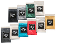 Load image into Gallery viewer, VARIETY PACK 2 (10 COLORS) mica powder pigment packs Black Diamond Pigments® - Black Diamond Pigments