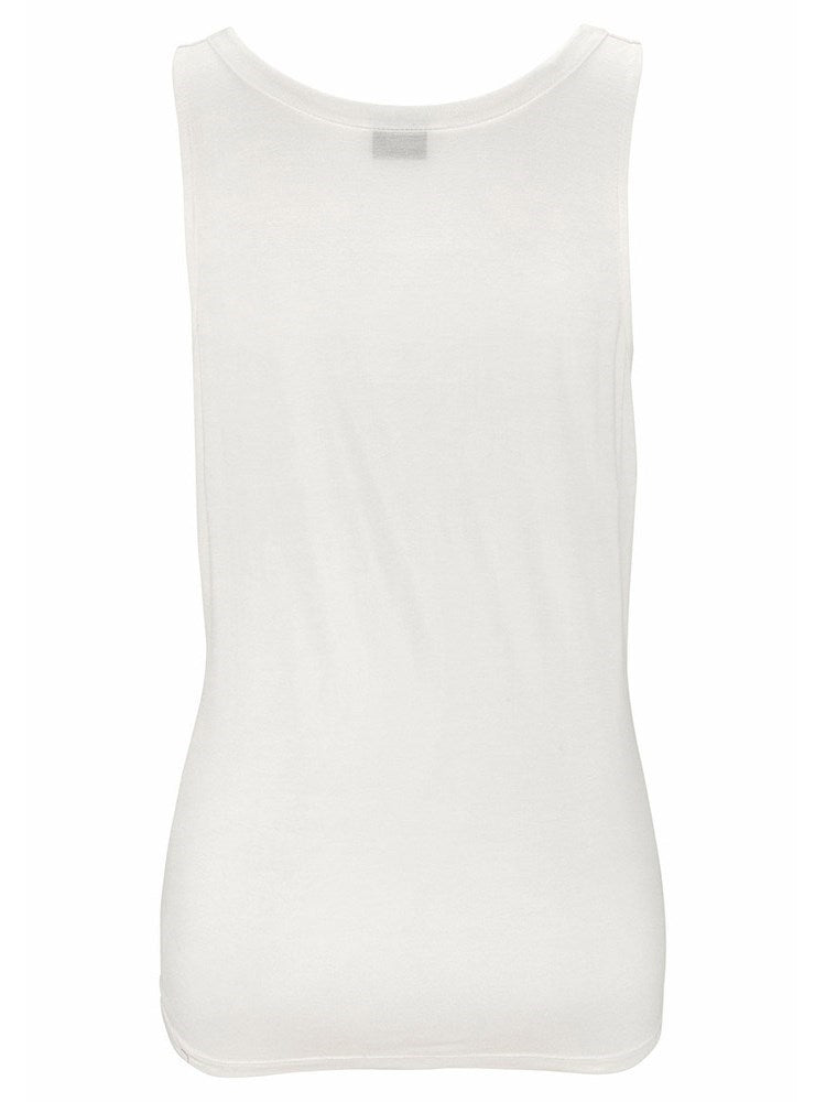 Hollow Polyester Summer Standard Tank Top