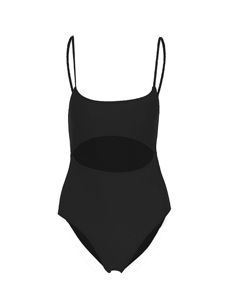 One Piece Plain Western Swimwear