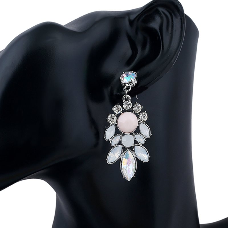 Alloy Geometric E-Plating Wedding Earrings