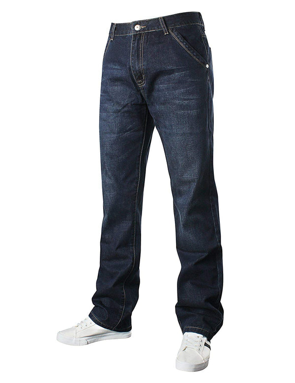 Demon&Hunter 809 Relaxed Series Men's Plus Size Relaxed Jeans