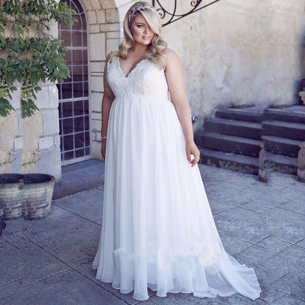 plus-size-maternity-wedding-dresses-empire-lace-bride-dress-for-pregnant-women