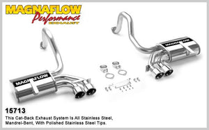 MagnaFlow Stainless Cat-Back System #15713 for C5 Corvette