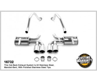 MagnaFlow Stainless Axle-Back System #16732 for C5 Corvette