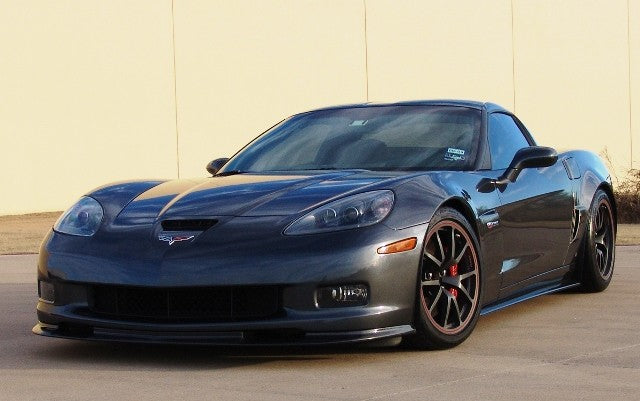 Carbon Fiber Side Skirts for C6 Corvette, Z06, ZR1, GS
