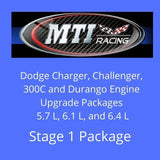 Dodge Charger Engine Upgrade Package Stage 1   5.7L, 6.1L, 6.4L   HEMI