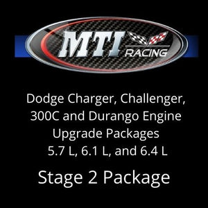 Dodge Charger Engine Upgrade Package Stage 2   5.7L, 6.1L, 6.4L    HEMI