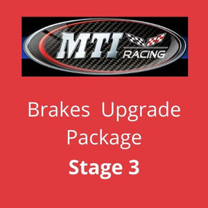 MTI Racing Dodge Challenger SRT8 Brake Upgrade Stage 3   (Brembo GT)