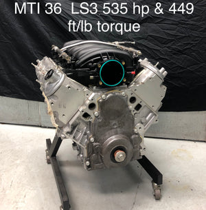 MTI Racing #36  LS1 375 Cu In Engine  535hp & 449 ft/lb of torque