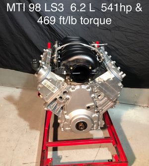 MTI Racing #98  LS3 6.2L Engine  550hp & 454 ft/lb of torque