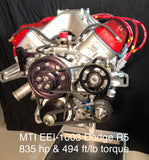 MTI Racing/Ernie Elliott  Dodge R5 Engine 835hp & 494 ft/lb of Torque