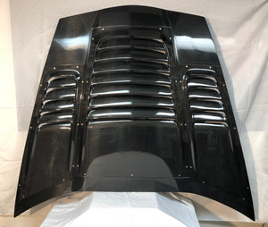 MTI Racing Carbon Fiber Heat Extractor Hood for C6 Corvette