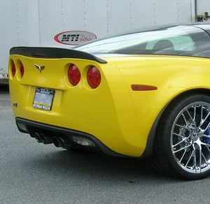MTI Racing Rear Carbon Fiber Spoiler for C6 Corvette Z06, ZR1, Grand Sport