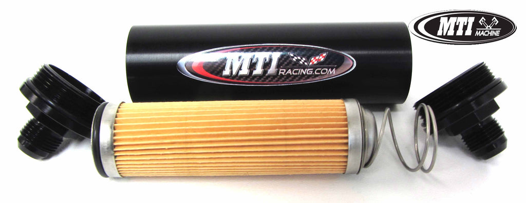 MTI Remote Oil Filter Assembly