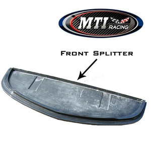 MTI Racing Front Splitter for C6 Corvette Z06