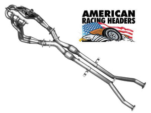 American Racing Header System With Cats for C6 Corvette Z06