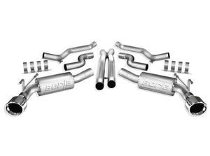 Borla Stainless Steel Cat-Back System ATAK for 5th Gen Camaro SS