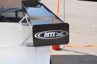 Rear Wing Aluminum End Plates