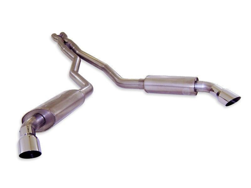 "Stainless Works 3"" Catback Chambered Mufflers for 5th Gen Camaro"