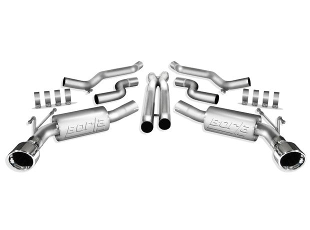 "Borla Stainless Steel Cat-Back System ""S-Type"" for 5th Gen Camaro SS"