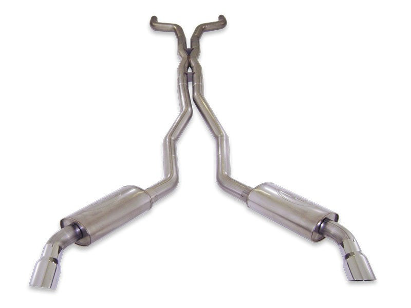 Stainless Works Catback Chambered Muffler Mild for 5th Gen