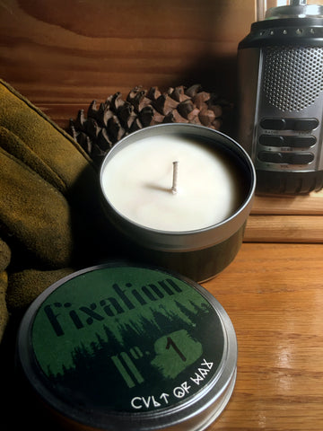 FIXATION SERIES handpoured soy wax candles