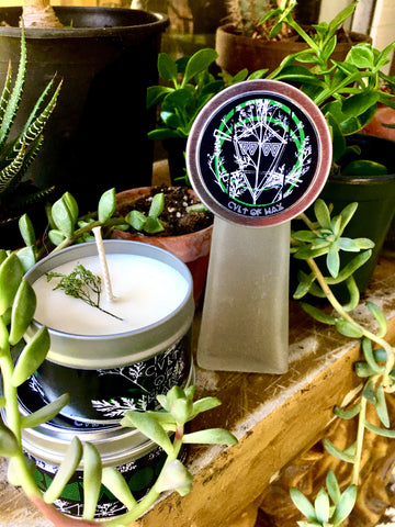 WORMWOOD handpoured soy candle
