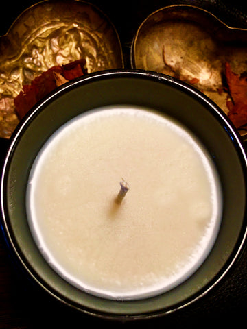 EXSANGUINATE handpoured 8oz soy wax candle (CVLT OF WAX luxe eds.)