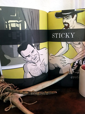 STICKY hardcover graphic novel (BRUNO GMÜNDER, 2006)